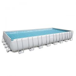 Piscina Bestway Power Steel Rettangolare cm 732x366x132h - 56475