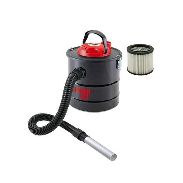 Bidone Aspiracenere Valex 11 Litri 800W Cinder 603 + Filtro Ricambio Omaggio