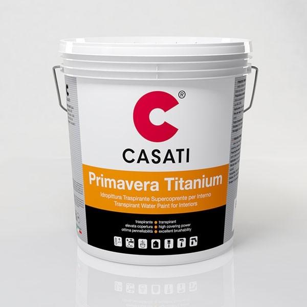 Idropittura Primavera Titanium Bianco Casati Lt 14