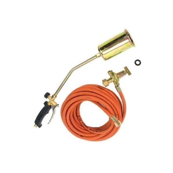 Cannello gas mm 580 da 60 mm con regolatore + tubo
