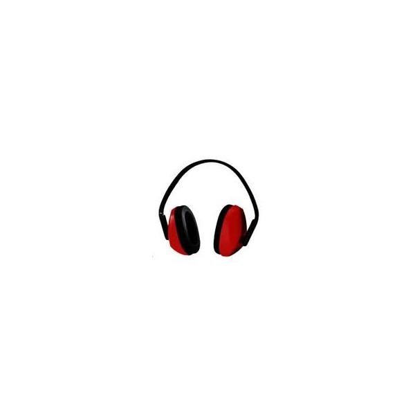Cuffie anti rumore rosse