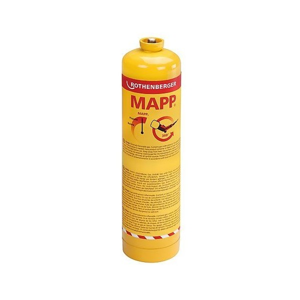 Bombola MAPP Gas 750ml Rothenberger