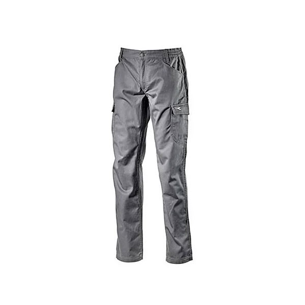 Pantalone da lavoro Diadora Pant Level Grigio Acciaio - 702.173550
