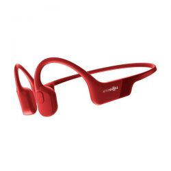 Auricolari Bluetooth Aftershokz Aeropex a Conduzione Ossea - Solar Red