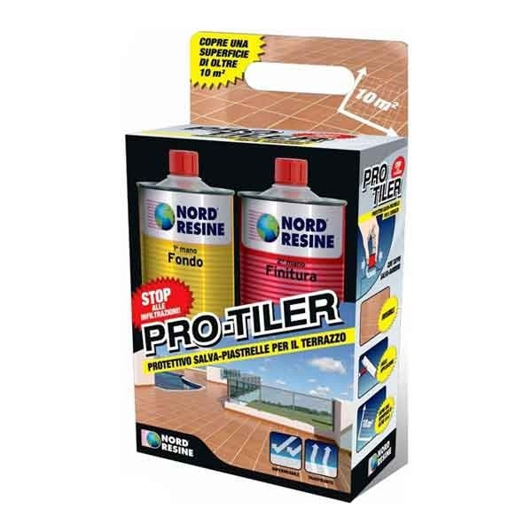 Pro-Tiler in Kit (1+1 L) Nord Resine