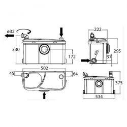 Trituratore Watermatic W12P