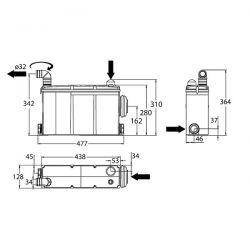 Trituratore Watermatic W17P