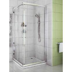 Box doccia cristallo trasparente 80x120