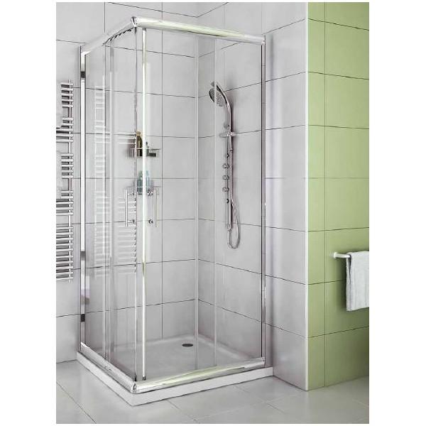 Box doccia cristallo trasparente 70x100