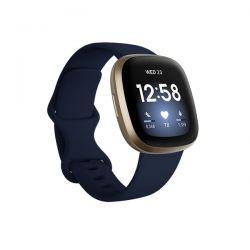 Smartwatch Fitbit Sense Lunar White - Soft Gold