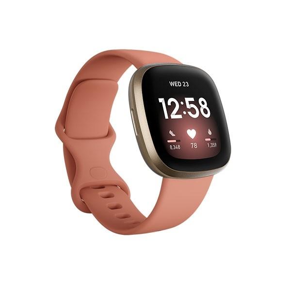 Smartwatch Fitbit Versa 3 Midnight - Soft Gold
