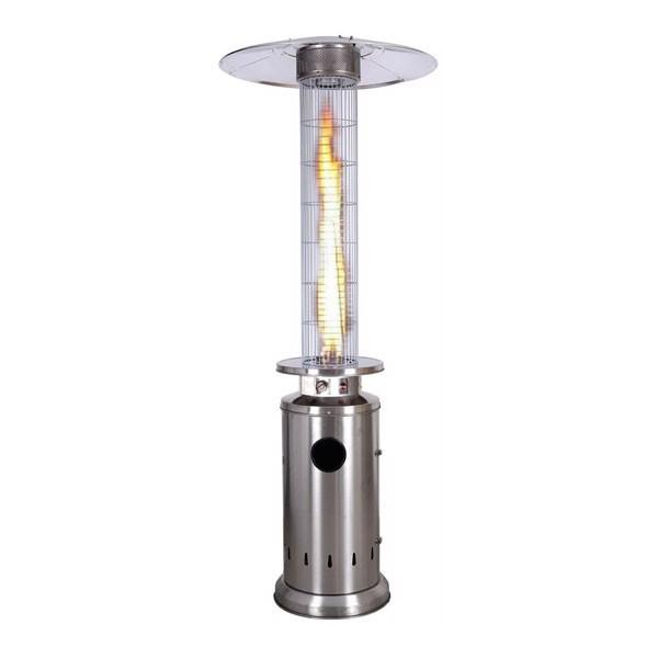 Stufa a Fungo Fire Glass a Gas - Bianco KE2020/W