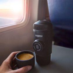 Macchina da Caffe Portatile Wacaco Nanopresso Grey + Carrying Bag