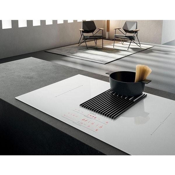 Piano Cottura Aspirante a Induzione Elica NIKOLATESLA LIBRA Nero BL/F/83 - PRF0147744
