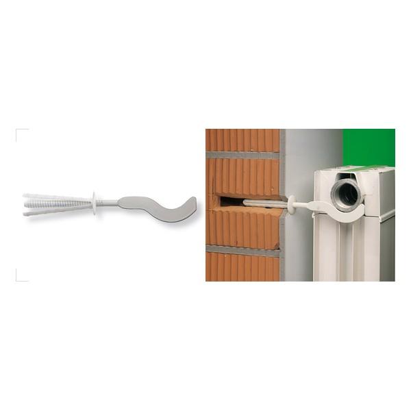 Mensole per radiatori alluminio TF 10/70 BP fischer