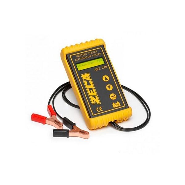 Tester Digitale Professionale Batteria E Alternatore Zeca 210