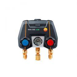 Smart Kit Manifold Digitale Testo 550i Comandato Tramite App Con Sonde Termometriche A Pinza Senza Fili (Ntc) - 0564 3550