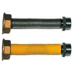 Manichetta acciaio gas estendibile 10-20 3/4 F x 1 F